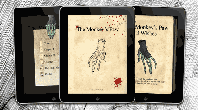 The Monkey's Paw iPad app
