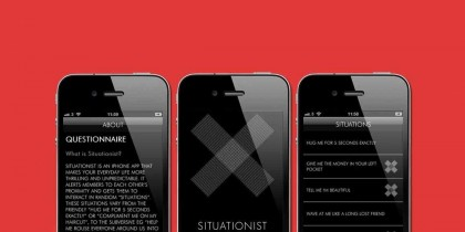 Situationist iPhone app