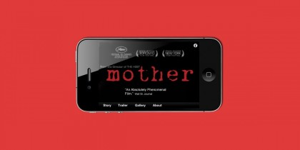 Mother iPhone app