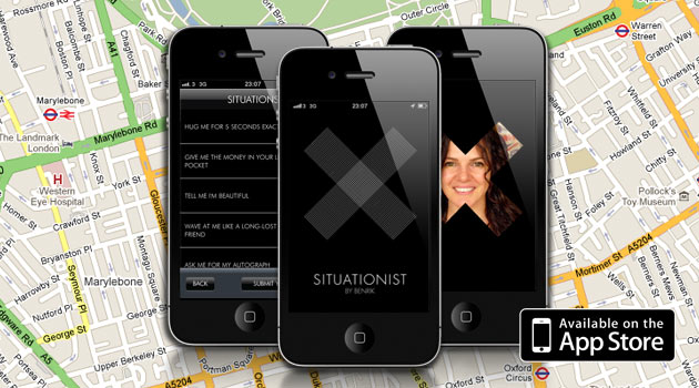 Situationist App is on App Store