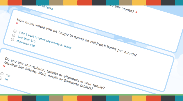 Children's books survey