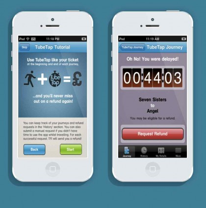 TubeTap iPhone app