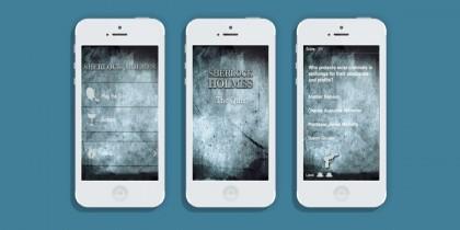 Sherlock Holmes iPhone app